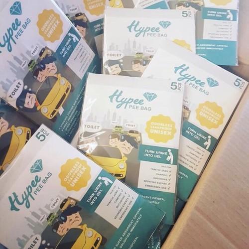 Foto Produk HYPEE PEE BAG Kantong Pipis Darurat dari Raja Popoks