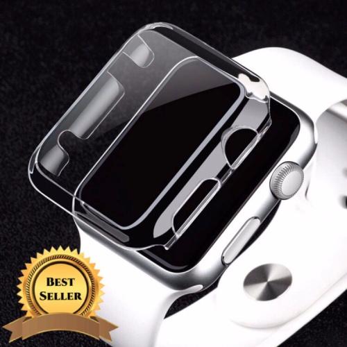 Foto Produk Bumper Hard case apple watch iwatch bening screen protector 38 / 42 mm - 42mm dari goru