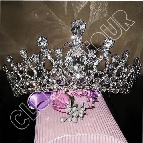 Foto Produk mahkota pernikahan tiara headband pengantin dari closet tour