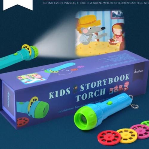 Foto Produk Kids Storybook Torch - Mainan Edukasi - Bahasa Inggris Cerita Belajar dari My Own Flashcards