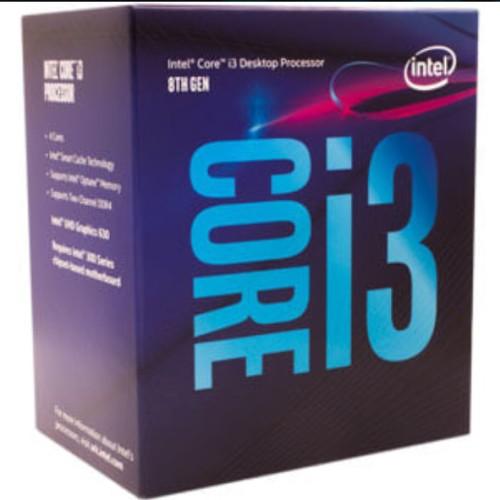 Foto Produk Intel Core i3-8100 3.6Ghz - Cache 6MB [Box] Socket LGA 1151 dari PlatinumCom