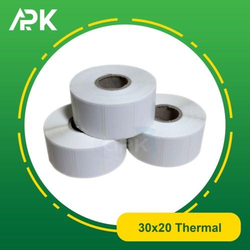 Foto Produk Kertas Label Printer Barcode XPrinter 306B / Label Thermal 30x20mm dari Alat POS Kasir