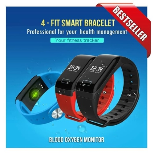 Foto Produk HEALTH BAND SMART WATCH 4-FIT WEARFIT F1 dari dvcorps