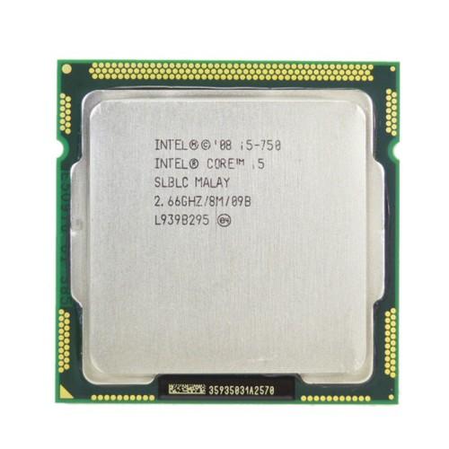 Foto Produk PROCESSOR INTEL I5 750 TANPA FAN SOCKET 1156 dari iconcomp