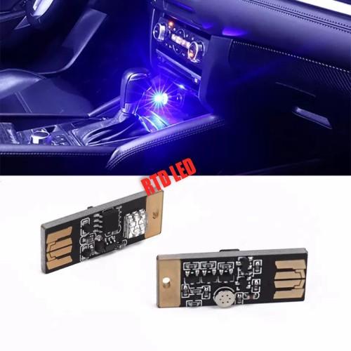 Foto Produk Lampu Led Interior Mobil RGB Usb Sensor Touch Music R052 dari RTD LED