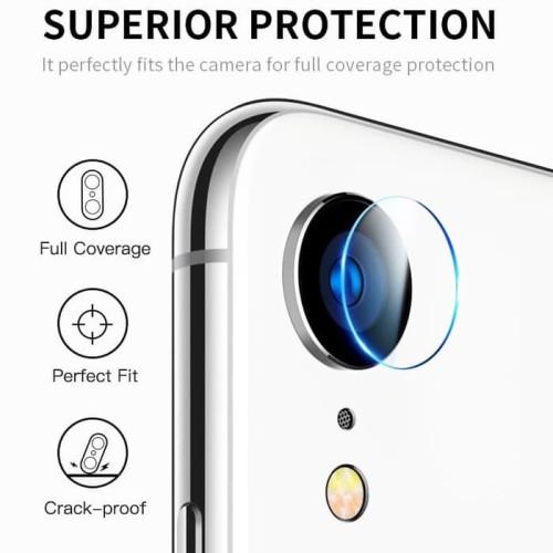 Foto Produk IPHONE XR camera tempered glass lens protector clear dari chic lit case