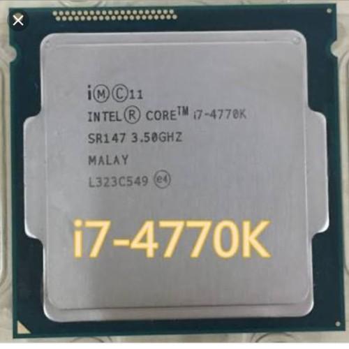 Foto Produk PROCESSOR INTEL CORE I7 4770K + FAN ORI SOCKEG 1150 dari iconcomp