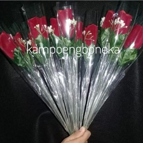 Foto Produk Bunga Tangkai/Mawar wisuda/Bunga Tangkai Wisuda dari kampoengboneka
