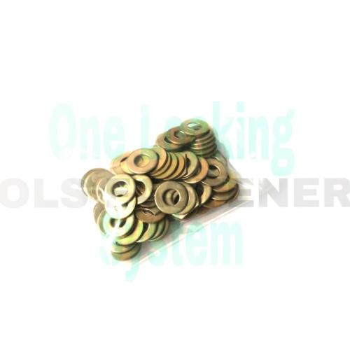 Foto Produk ring plat m10 kuning 10 mili kuning isi 100 pc dari OLS_Fastener