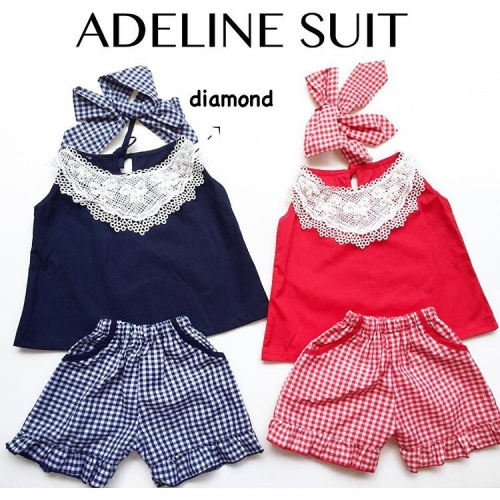 Foto Produk Adeline Suit / Setelan Bayi Perempuan Lucu Murah / Baju Bayi Perempuan dari kat.babyclothing