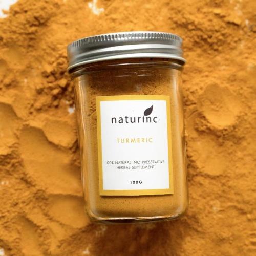 Foto Produk Turmeric Powder Organic Kunyit Bubuk Curcumin dari Naturinc