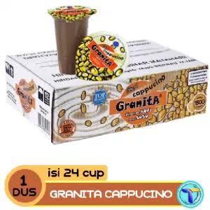 Foto Produk Granita Cappucino/kopi susu minuman cup (1 karton isi 24 cup) dari Rcky07 Olshop