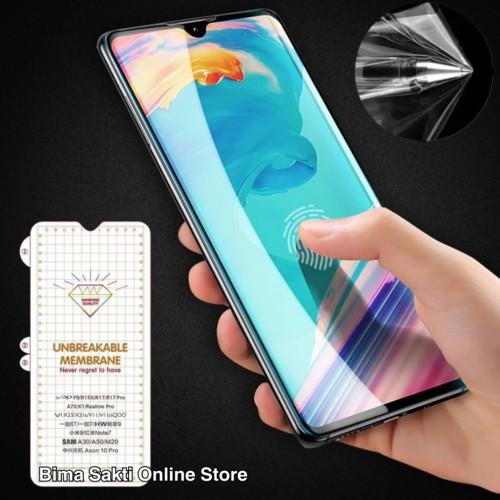Foto Produk Samsung Galaxy S9 S9 Plus Anti Gores Screen Protector Hydrogel - samsung s9 dari bima sakti online store