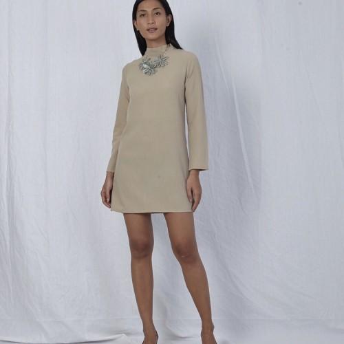 Foto Produk Brown dress long sleeves backless dari Khajaana