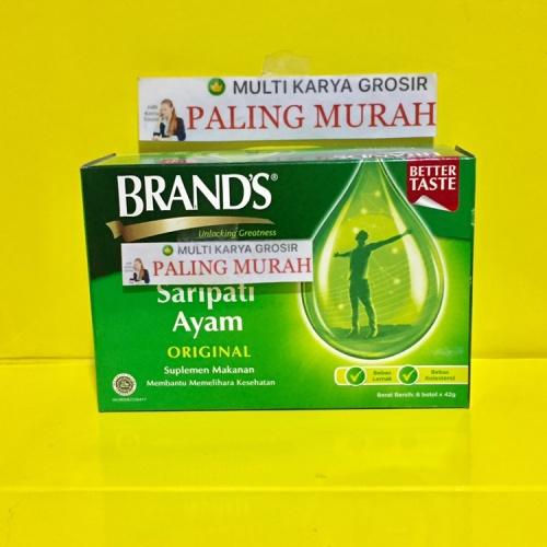 Foto Produk Brands saripati ayam Brand sari pati ayam ORIGINAL 42gram dari MULTI KARYA GROSIR