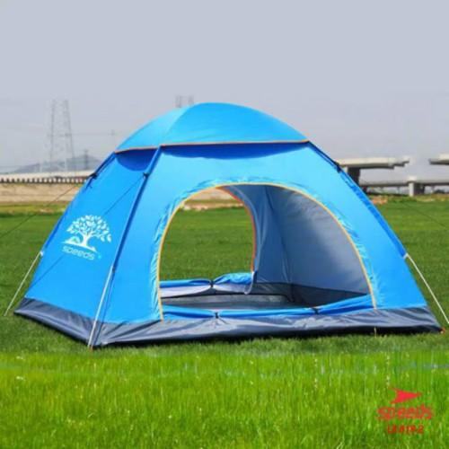 Foto Produk Tenda camping kapasitas 4 Orang tenda otomatis outdoor indoor 018-2 dari Hebohstore