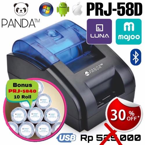 Foto Produk PRINTER KASIR/PPOB THERMAL 58MM PANDA PRJ-58D ANDROID (USB+BLUETOOTH) dari PANDA RETAIL SOLUTIONS