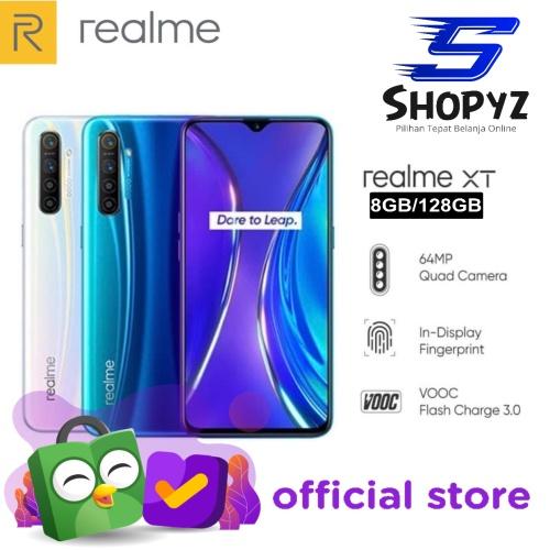 Foto Produk REALME XT 64MP QUAD CAMERA - 8GB 128GB - 8/128 - GARANSI RESMI REALME - Pearl White dari Shopyz ID