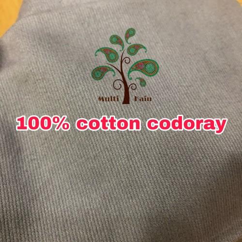 Foto Produk bahan multi kain full katun baby codoroy codoray kodoroy kodoray - Hitam dari multi kain