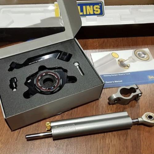 Foto Produk Steering Damper Z1000 Ohlins Bracket DMV dari Candi Motor