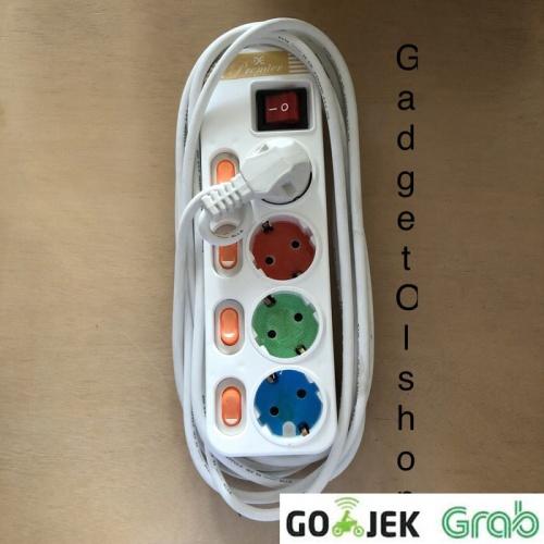 Foto Produk Jual Stop Kontak Dexicon Lubang 4 Panjang Kabel 5 Meter Full dari Gadget olshop