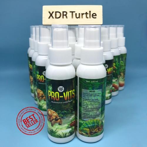 Foto Produk PRO-VIT 100ml VITAMIN MULTIVITAMIN TORTO SULCATA REPTIL dari XDR TURTLE