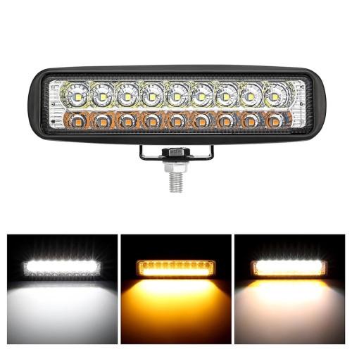 Foto Produk Lampu Tembak 2 Warna 18 Mata Alumunium Case R191 dari RTD LED