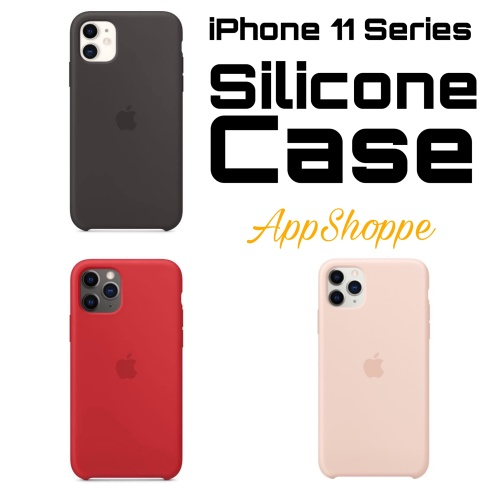 Foto Produk Silicone Case iPhone 11 Series Soft Casing Microfiber Inner Protection dari AppShoppe