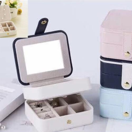 Foto Produk PANACHE Three Layer Travel Jewelry Box, Kotak Perhiasan dari PANACHE