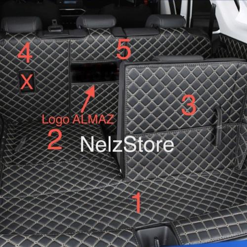 Foto Produk Wuling Almaz Pad Pelindung Barisan 2 + 3 dan Bagasi dari NelzStore