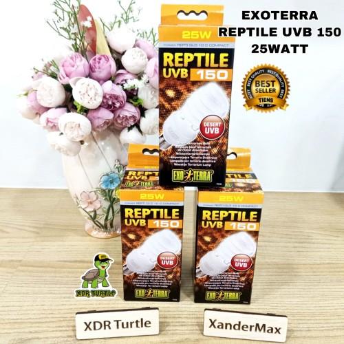 Foto Produk EXOTERRA UVB 150 25WATT LAMPU REPTIL UVB dari XDR TURTLE