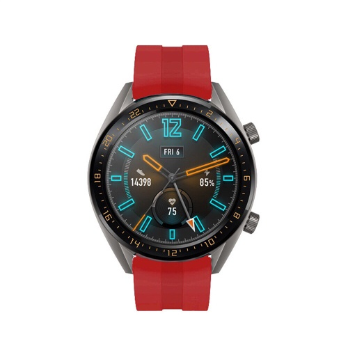 Foto Produk STRAP TALI JAM SILIKON BAND HUAWEI WATCH GT GT 2 46MM MODEL ORIGINAL dari strapwatchidn