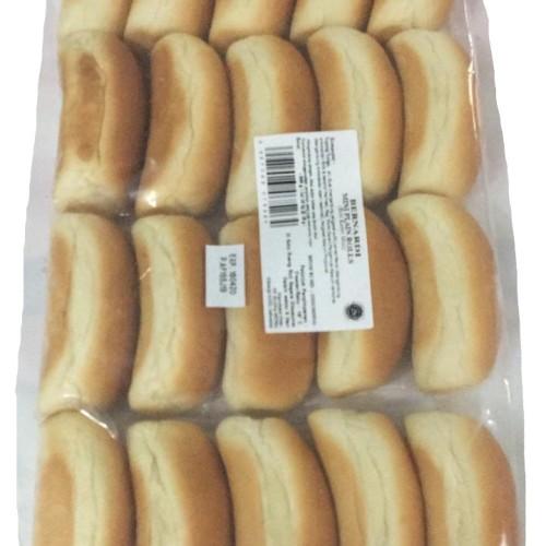 Foto Produk Roti Hotdog Mini Bernardi isi 20pcs dari Kebab Mini Frozen Food
