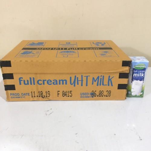 Foto Produk Susu UHT Greenfields 200 ml x 24 pcs FULLCREAM - GRAB GOJEK ONLY dari Kalimantan Toko