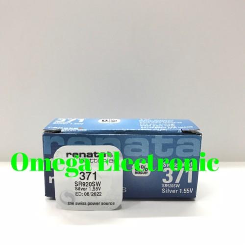 Foto Produk ORIGINAL Baterai Renata SR920SW 371 Battery Batre LR920 920 dari Omega Electronic