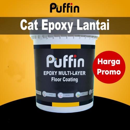 Foto Produk Cat lantai epoxy Multi layer PUFFIN 193 1kg - topcoat floor coating dari PuffinInsectGuard