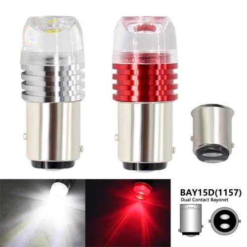 Foto Produk Lampu Rem Lampu Stop Bayonet 1157 No Flash Terang Redup R204 - Putih dari RTD LED