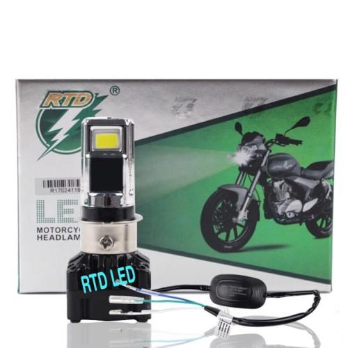 Foto Produk lampu led motor H4 H6 headlamp bohlam motor RTD M02D original AC-DC HS dari RTD LED
