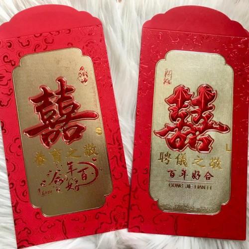 Foto Produk ANGPAO BESAR JUMBO XL SANGJIT ang bao uang susu lamar hongbao shuangxi dari Hellogorjes_