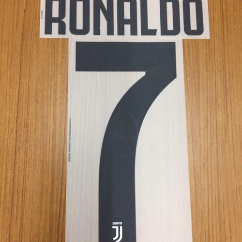Foto Produk Original Namset Juventus 2018-19 Home dan Away Ronaldo dari id_us football