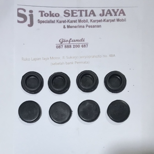 Foto Produk Karet tutup lubang 3cm dari Setia Jaya Rubber