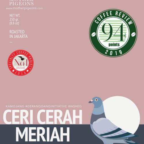 Foto Produk CERI CERAH MERIAH (Kamojang #GeranggangInitiative Washed) dari Motherpigeons Roaster
