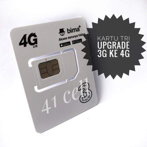 Foto Produk Kartu Pernada Upgrade 3G ke 4G Tri , tree , 3 dari 41cell