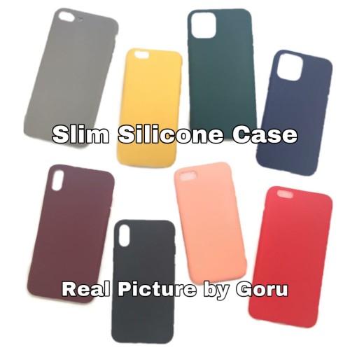 Foto Produk Silicone soft case Slim iphone X Xr Xs 11 11 Pro max 6 6s 7 8 plus dari goru