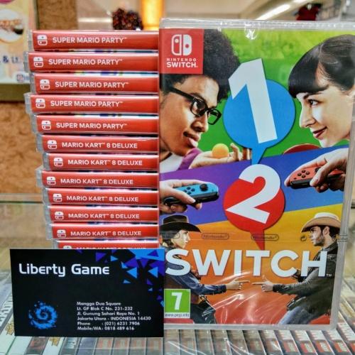 Foto Produk NINTENDO SWITCH 1-2 SWITCH GAME dari Suyanto//Liberty Game