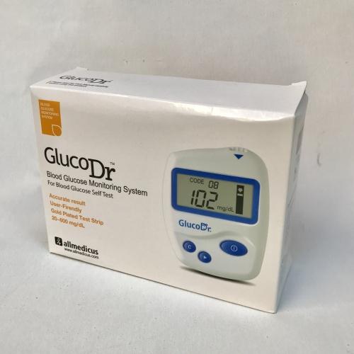 Foto Produk Alat cek gula darah / glucose Gluco Dr AGM 2100 unit only dari Gudang Sehat Store