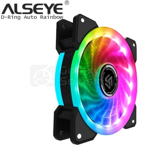 Foto Produk Alseye D-ringer auto rainbow fan case dari global aksesoris