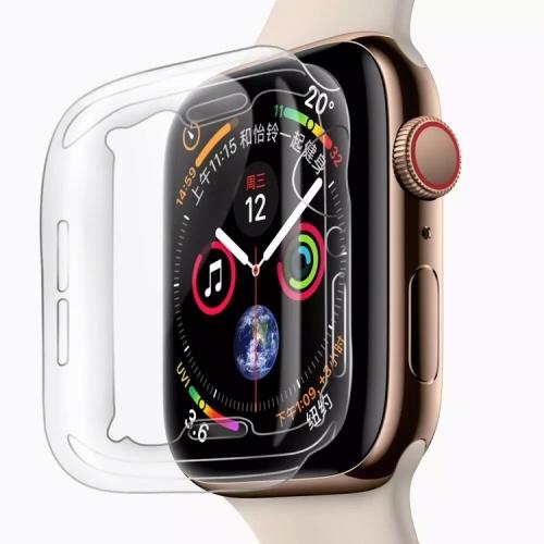 Foto Produk Soft case apple watch iwatch series 4 screen protector 40mm 44mm clear - 40mm dari goru