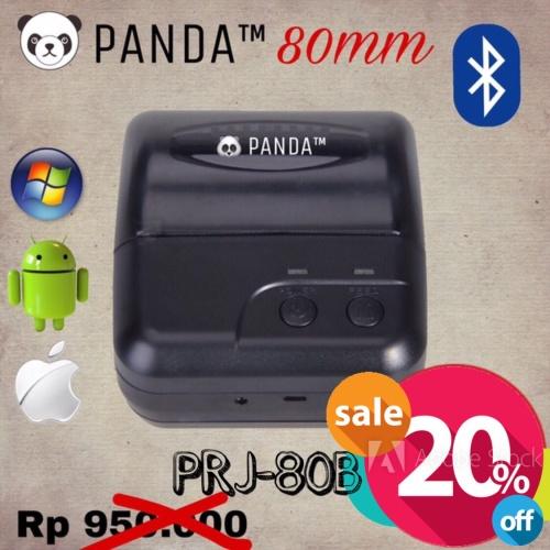 Foto Produk PANDA MOBILE MINI PRINTER KASIR-PPOB BLUETOOTH+USB 80MM KERTAS THERMAL dari PANDA RETAIL SOLUTIONS