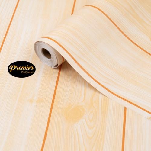 Foto Produk Wallpaper Kayu Cream V2 dari Premier Wallpaper